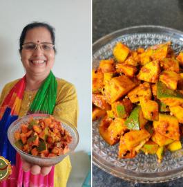 Kacche Aam Ka Achaar - Without Fire Recipe