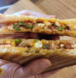 Paneer Veg Sandwich Recipe