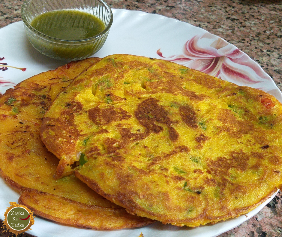 Vegetable Rice Cheela Recipe