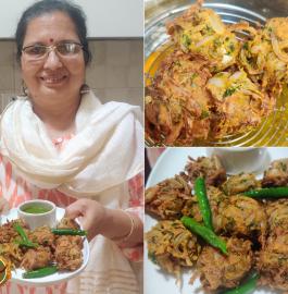 Pyaaz Ke Pakode | Lachhedaar Pyaaz Pakode Recipe