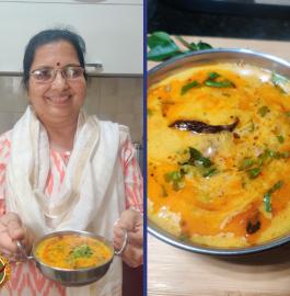 Pyaaz Wali Kadhi Without Besan Recipe