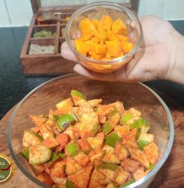 Kacche Aam Hing ka Achaar Recipe