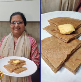 Cheeni Ka Paratha Recipe