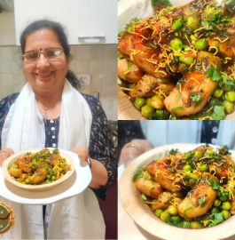 Chatkaare wali Chaat | Aloo Chaat Recipe