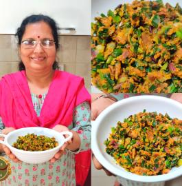 Besan Hare Pyaaz Ki Sabji Recipe