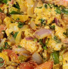 Veg Kathi Sabji Recipe