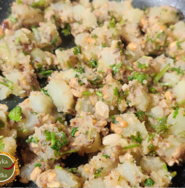 Vrat Wali Aloo Mungfali Sabji Recipe