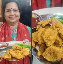 Mix Veg Aata Pakoda Recipe