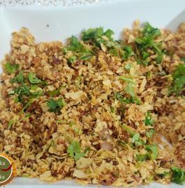 Pyaaz Papad Choori Recipe