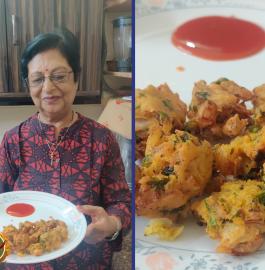 Sanne Pakode | Sindhi Pakode Recipe