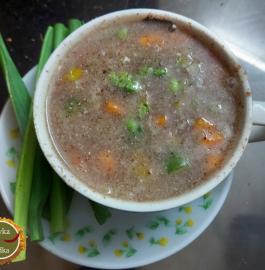 Veg Ragi Soup Recipe